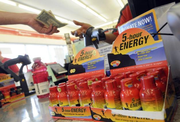 5 hour energy drink.