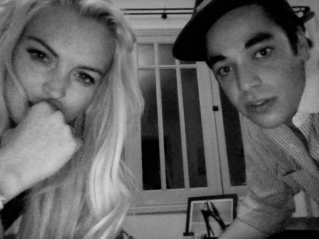 Lindsay Lohan and Gavin Doyle.