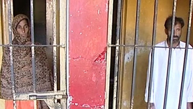 Pakistan parents doused daughter in acid honor killing for looking at boy.