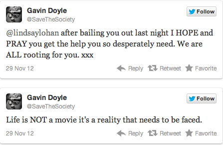 Gavin Doyle twitter.
