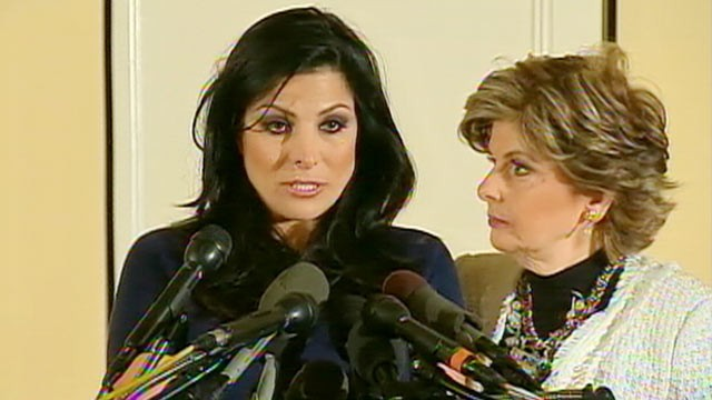 Natalie Khawam and Gloria Allred