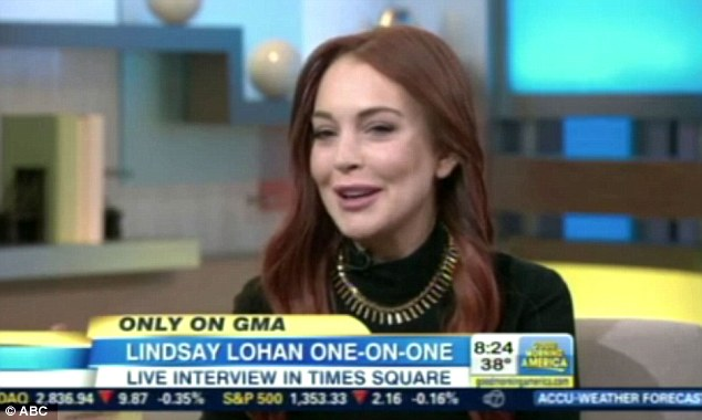 Lindsay Lohan on GMA