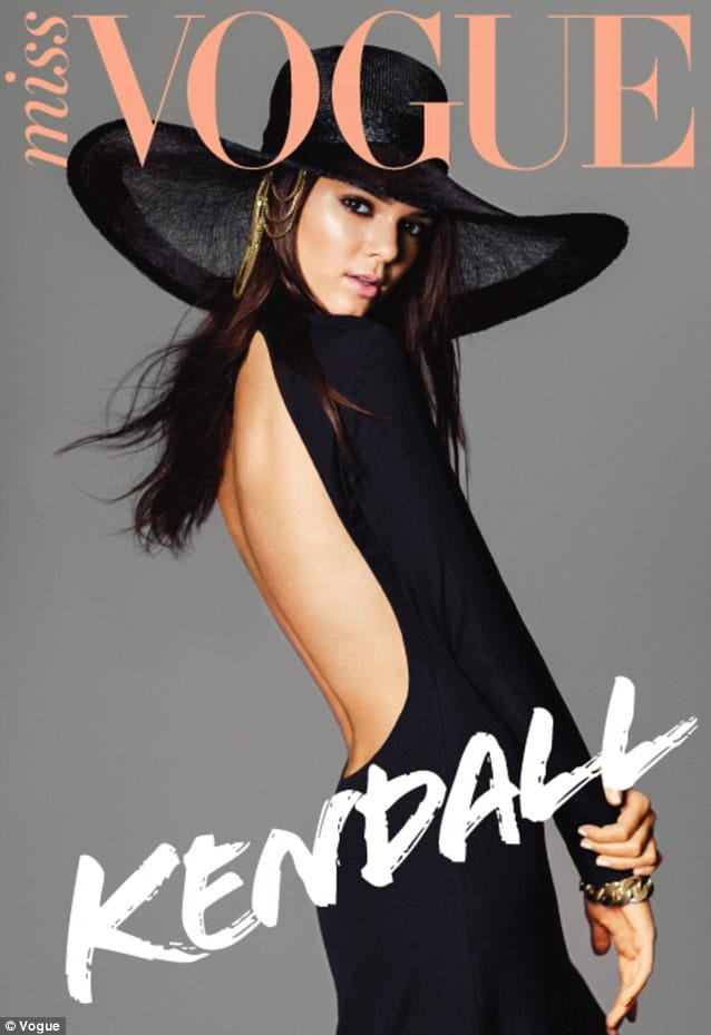 Oh wow! Kendall Jenner miraculously now becomes a Vogue cover model too.