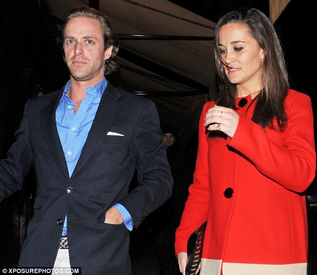 Pippa Middleton and Tom Kingston
