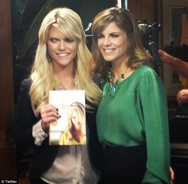 Lauren Scruggs and NBC's Natalie Morales.