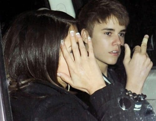 Justin Bieber got his marching orders from Selena Gomez last week. Too immature…