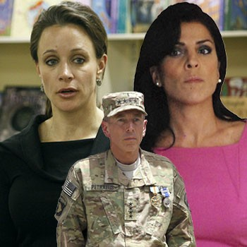 Paula Broadwell, David Petraeus, Jill Kelley