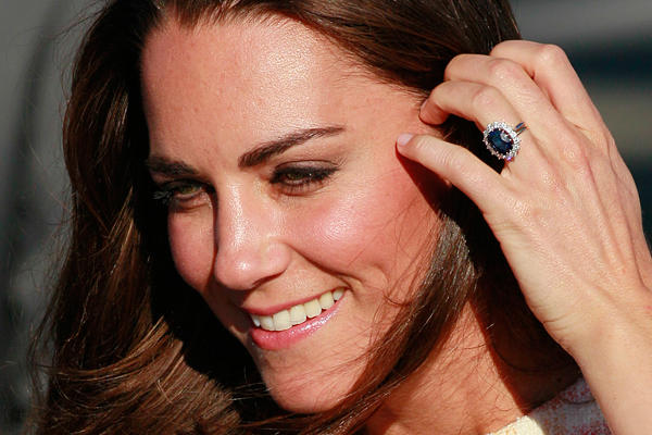 Oh really? Kate Middleton is now officially pregnant!