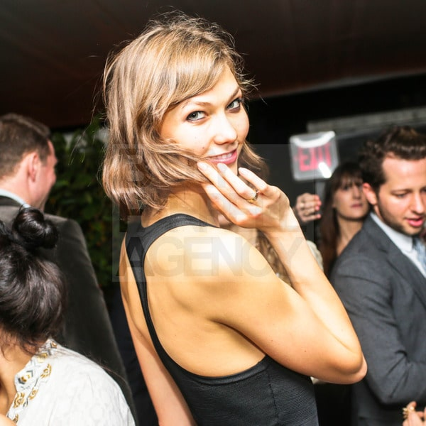 Karlie Kloss. CHANEL Hosts a Dinner and Auction to Benefit the Henry Street Settlement