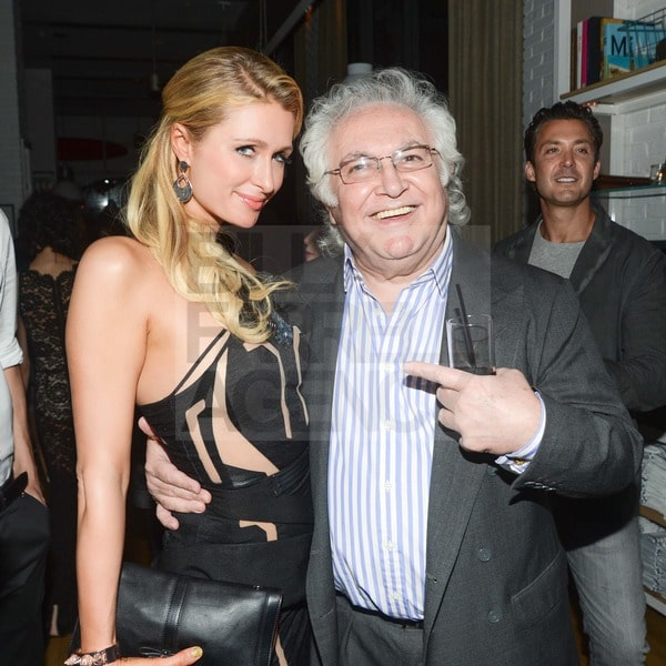 Paris Hilton, Tony Shafrazi