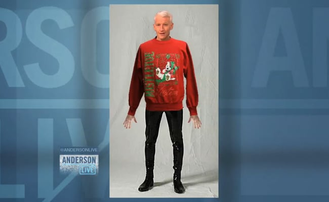 My hero Anderson Cooper insists he will never wear meggings.