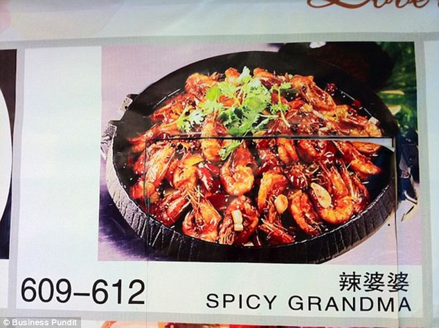 Half grilled chicken and herpes. Hilarious mistranslated menu items…