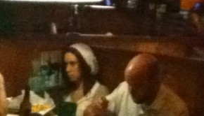 Casey Anthony at Flanigan's Seafood Bar and Grill in Lake Worth, Fl.