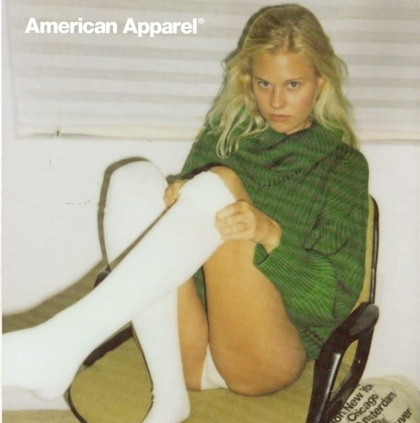 Is this American Apparel Ad too sexy for your tastes? Say yes cause it got banned anyway…