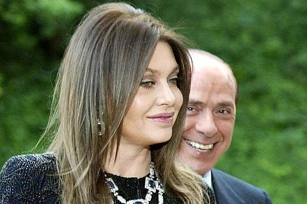 Veronica Lario and Silvio Berlusconi
