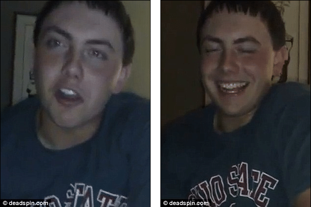 Steubenville High school students joke about rape in video leaked by Anonymous.