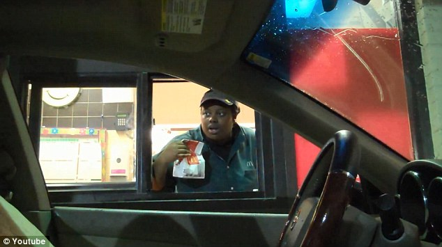 Drive thru invisible driver prank goes viral. A metaphor on the American fast food experience...