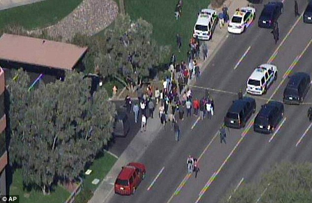 Phoenix gunman shoots three, one critically at complex. Still at large.