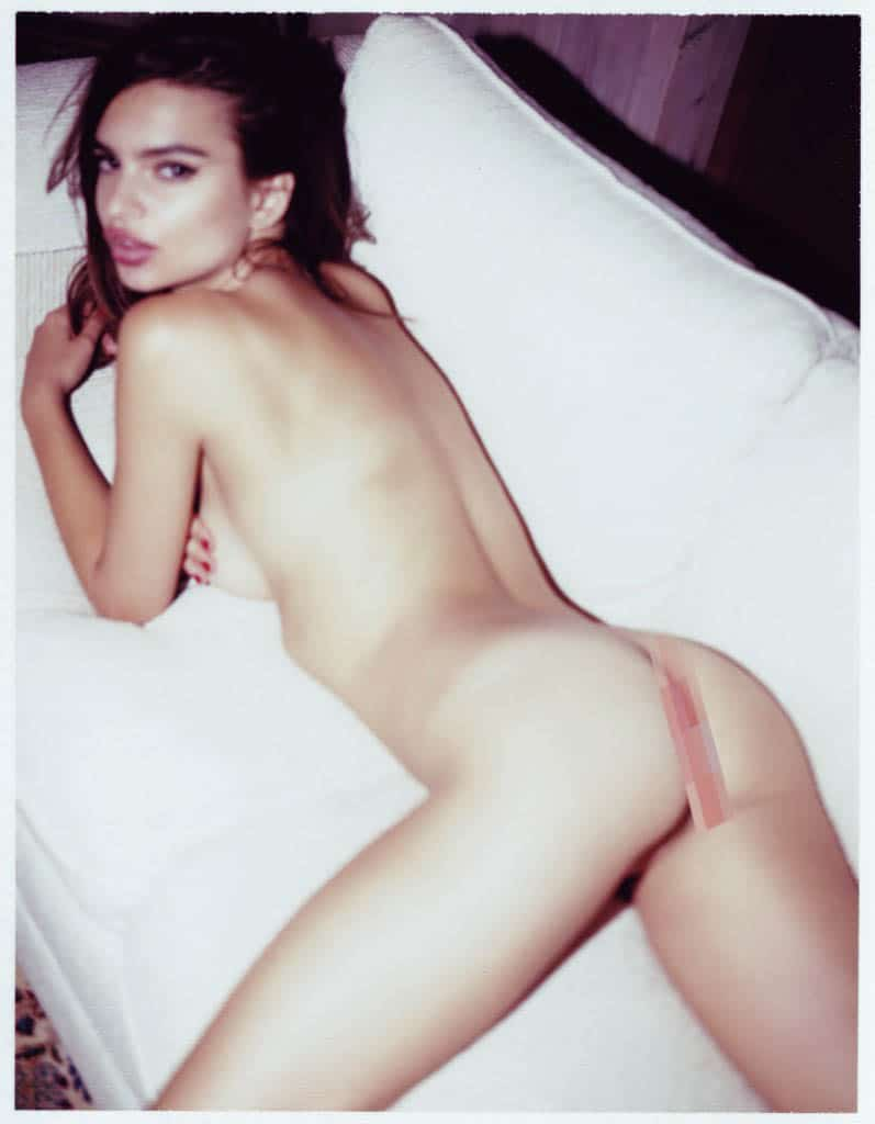 And this is supermodel Emily Ratajkowskis nude photo shoot…