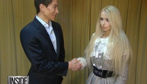 Justin Jedlica and Valeria Lukyanova