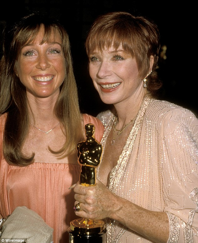 shirley maclaine and daughter relationship