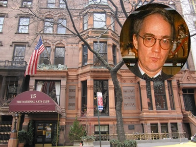 Aldon James, former National Arts Club president sues hardware store for locking him out.