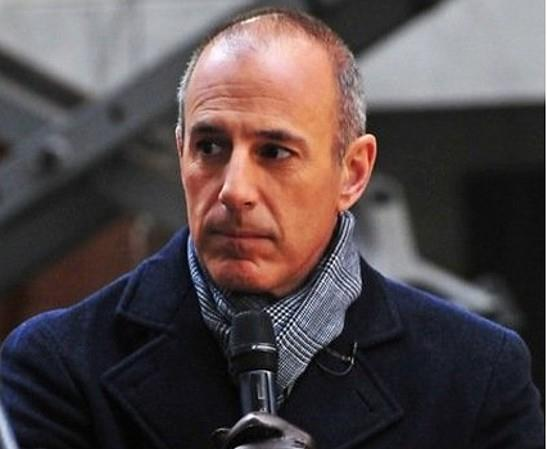 Matt Lauer tweets apology to former intern for being a douche.