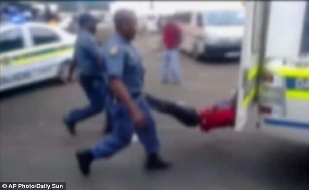 Mido Macia: South African Taxi driver dragged to his death by police van.