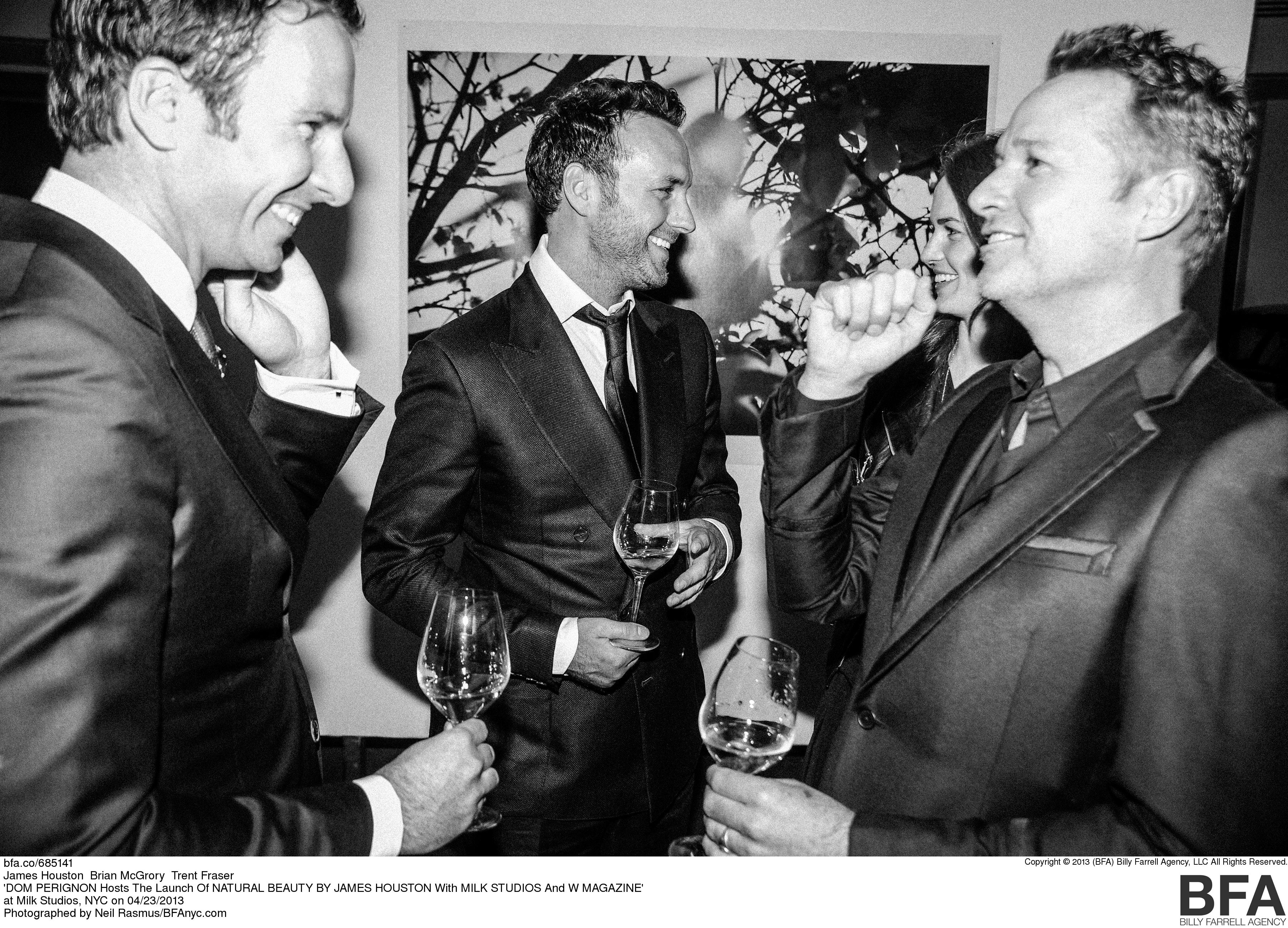 DOM PERIGNON Hosts The Launch Of NATURAL BEAUTY BY JAMES HOUSTON With MILK STUDIOS And W MAGAZINE