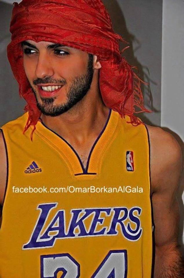 Omar Borkan Al Gala is the too handsome bixch from Saudi Arabia that got deported.