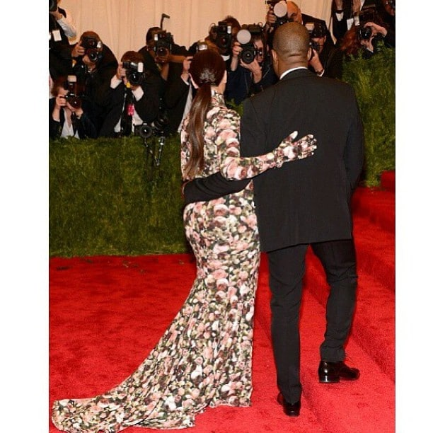 Kim Kardashians swollen feet disgust at Met Ball.