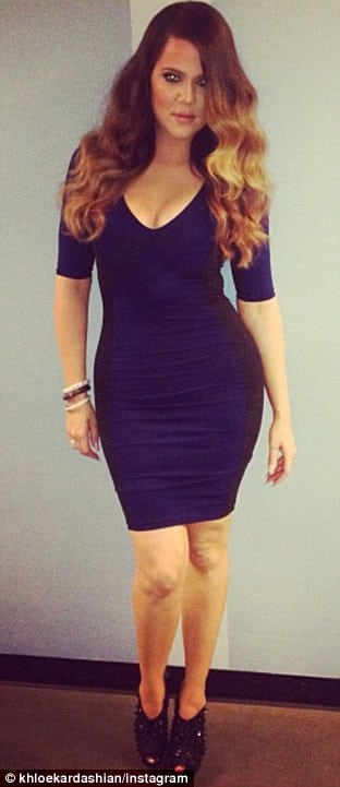 Oh really? How did Khloe Kardashian lose 30 pounds just like that?