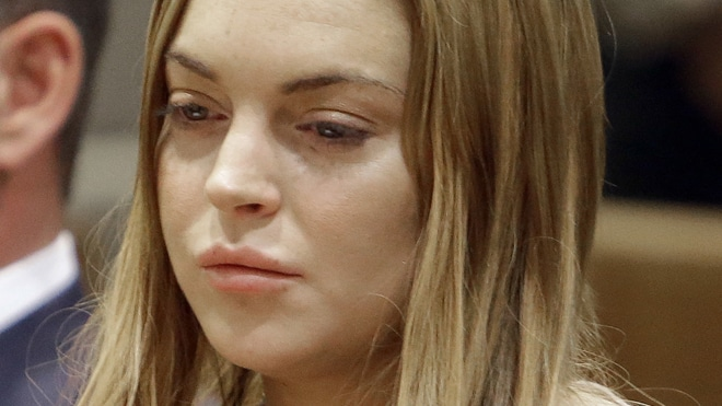 Lindsay Lohan asked to leave Betty Ford Clinic cause shes a nuisance.