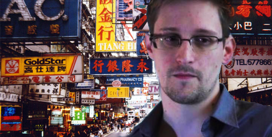 Was he right to speak out? Edward Snowden, former CIA operative, whistle blower now on the run...