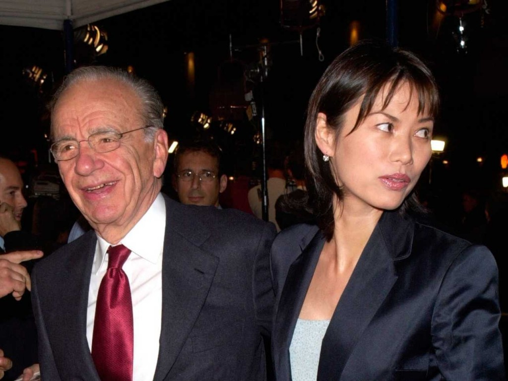 Twitter awash with theory as to why Rupert Murdoch is divorcing Wendi Deng.