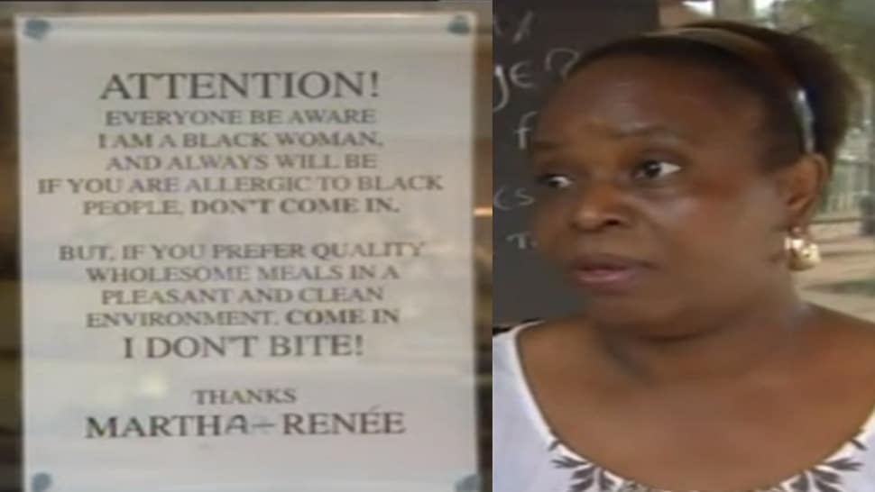 msa  Martha Renee Kolleh posts warning to racist customers: I am a black woman.