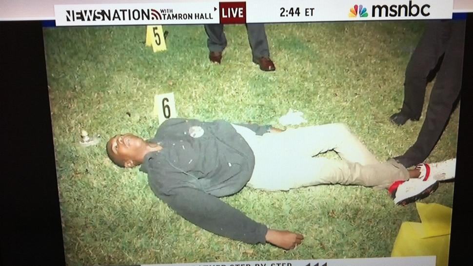 Trayvon Martins dead body sends the media world into a tizzy.