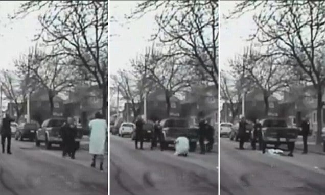 Graphic Video: Cops shoot dead mental patient cause officer with Taser gun had yet to arrive.