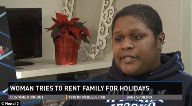 Jackie Turner goes to craigslist seeking to rent family. $8 an hour...