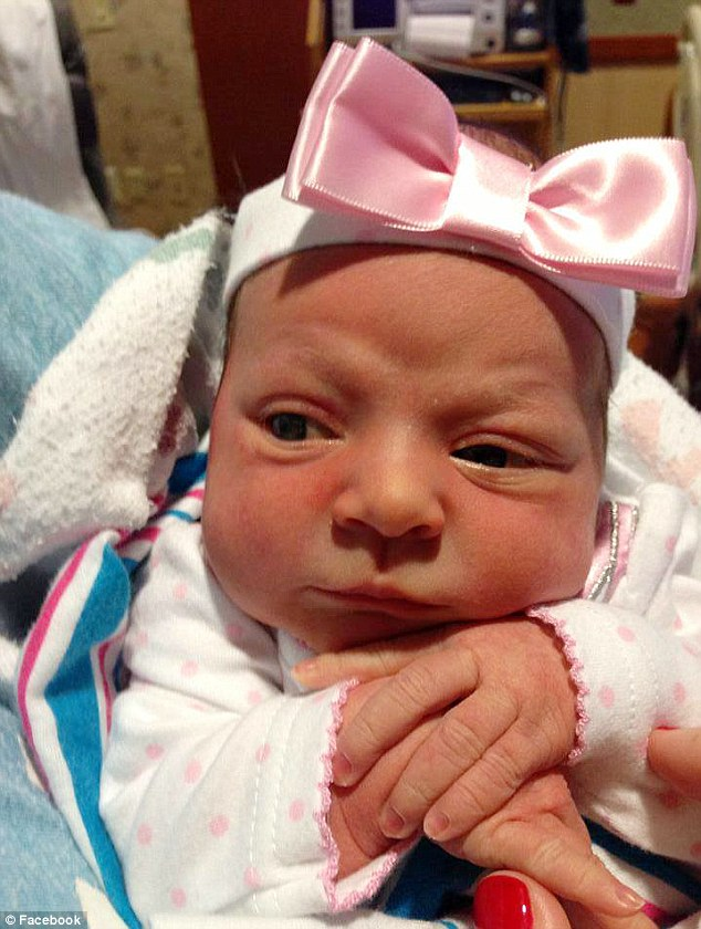 Surrogate baby born four months after mother, Laura Yoho with brain cancer dies.