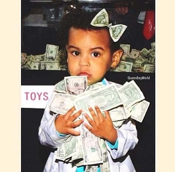 Blue Ivy's birthday