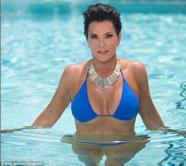 Kris Jenner Instagram. The Bikini Shots To Salivate Over