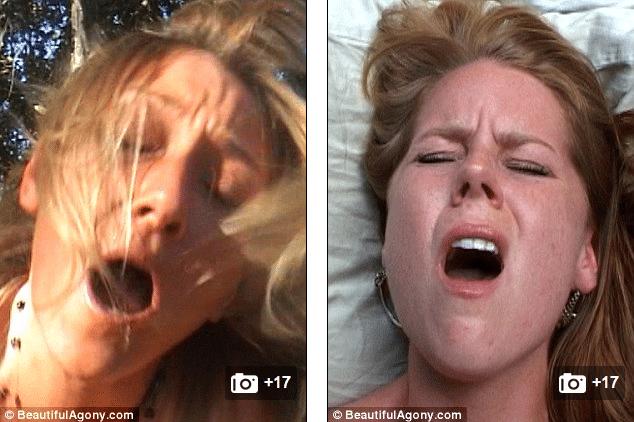 Consider, Beautiful agony orgasm face idea You