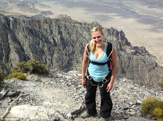 Accident? Amber Marie Bellows, Base jumper plummets 2000 ft to her death.