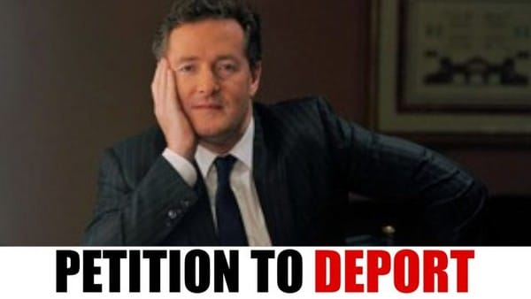 Piers Morgan cancelled. Get the prima donna off CNN now!