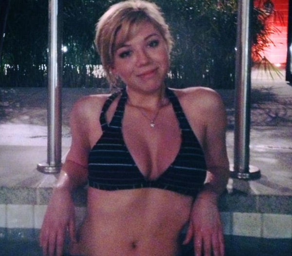 Jennette McCurdy lingerie photos. Oops I am very ashamed.