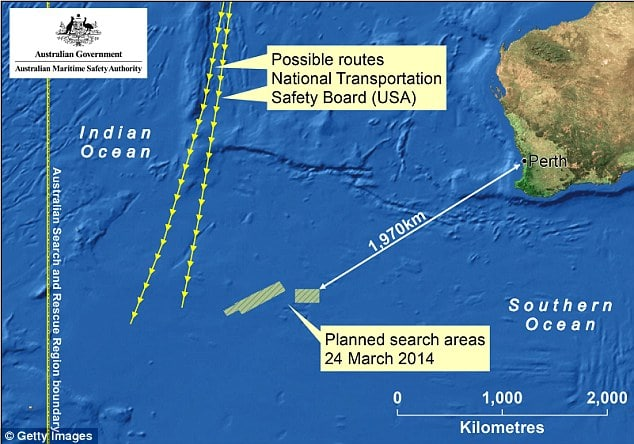 Flight MH370 confirmed to have ended in Indian Ocean but still no sightings.