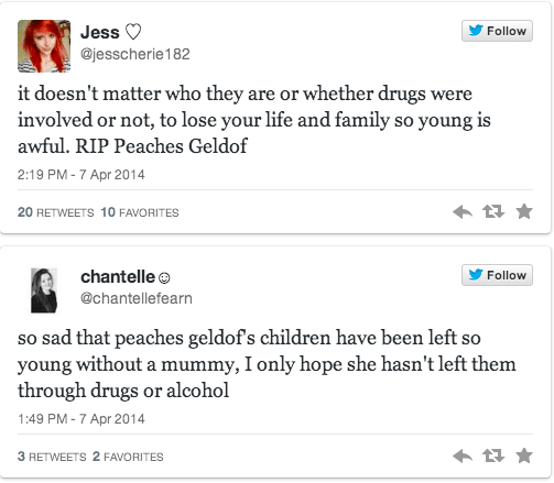How did Peaches Geldof die? Did she overdose?