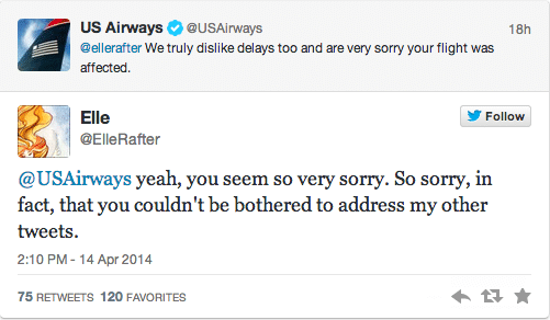 US Airways account tweets masturbating picture to complaining customer