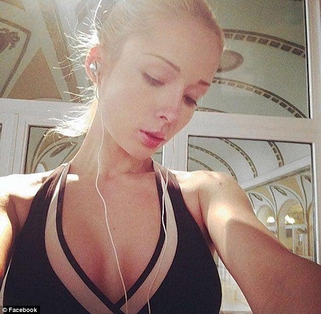 Human Barbie Valeria Lukyanova selfie. But wheres the make up?